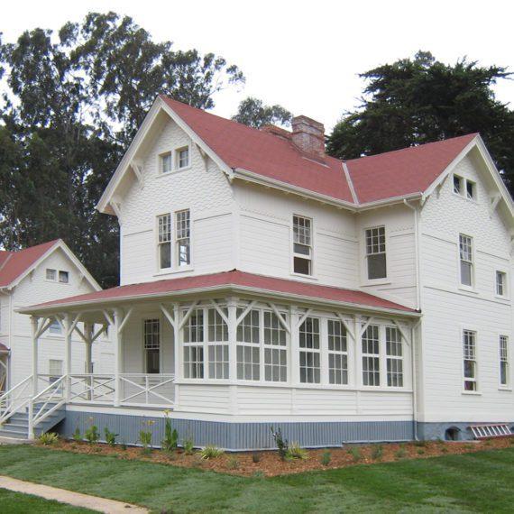 Presidio Funston Avenue Houses | Siegel & Strain