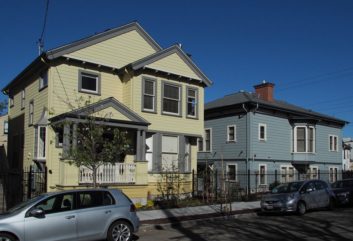 Ellen Blood House & John Woolley House, Berkeley, California
