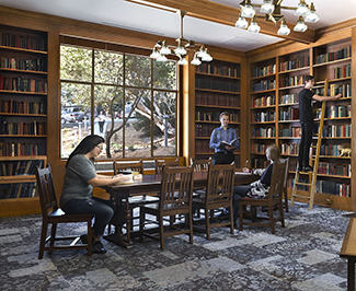 UC Berkeley Bowles Hall historic interiors