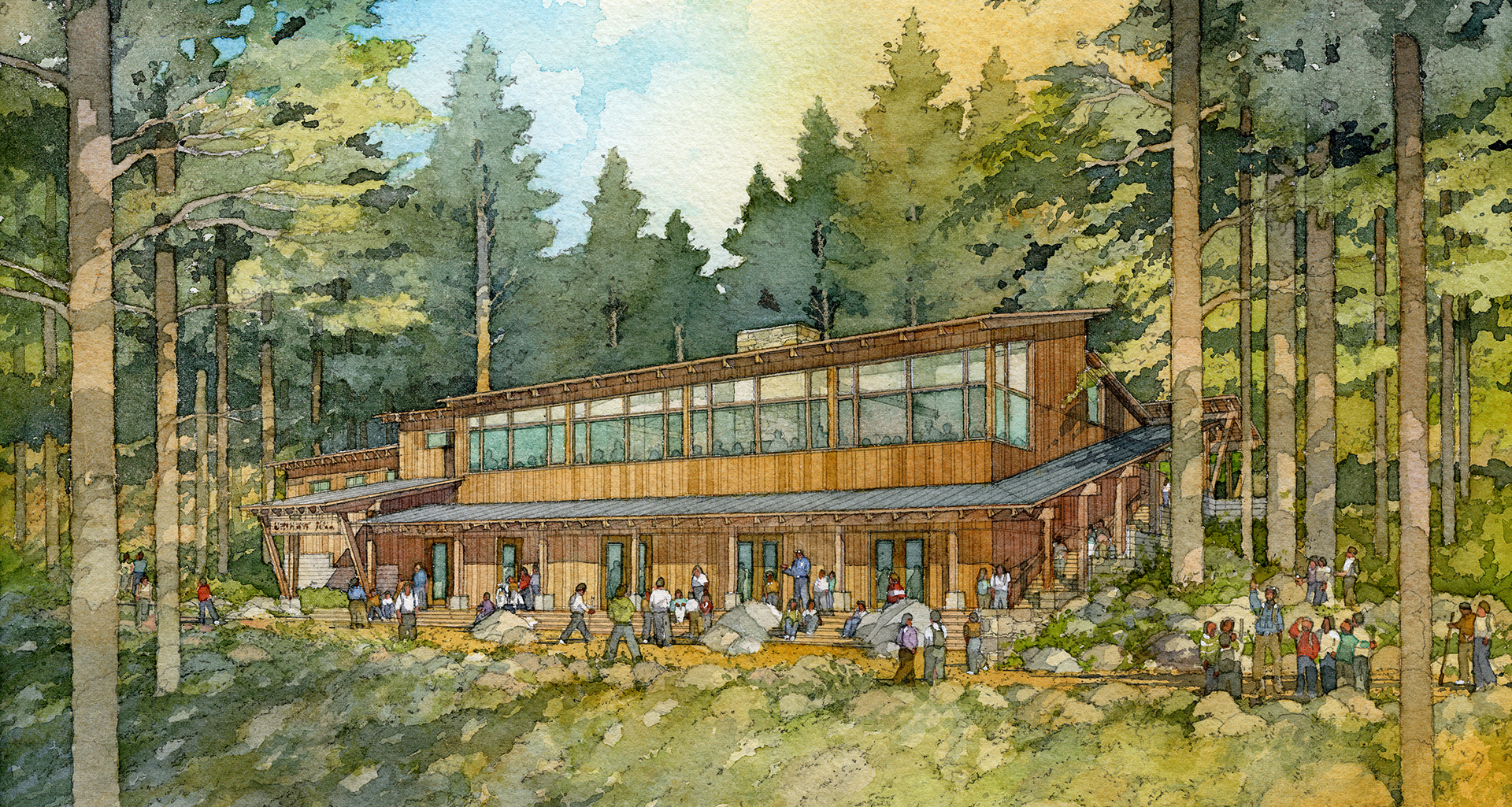 National Environmental Science Center   Rendering by Al Forster