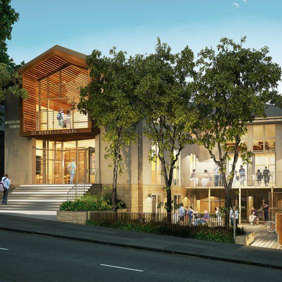 Berkeley Hillel | Rendering: CISPA