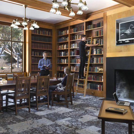 UC Berkeley Bowles Hall   Photo by David Wakely