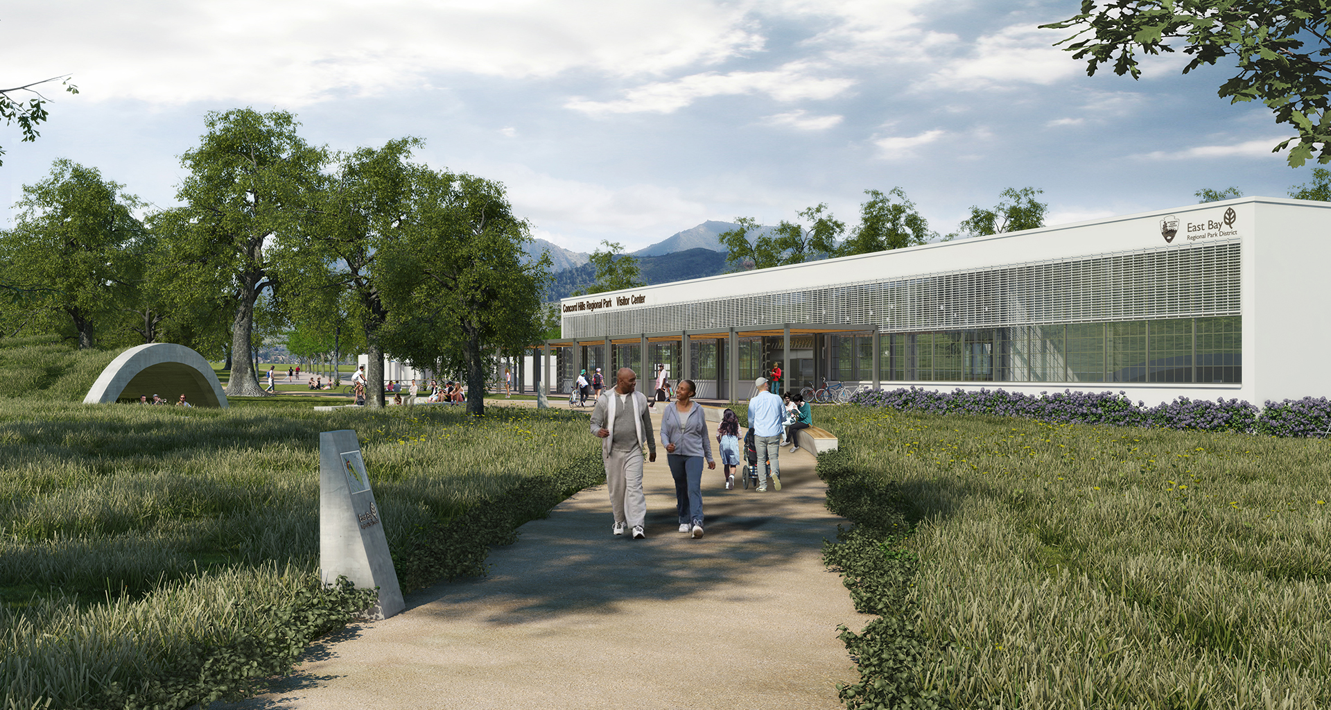 Concord Hills Visitor Center | Renderings by CISPA