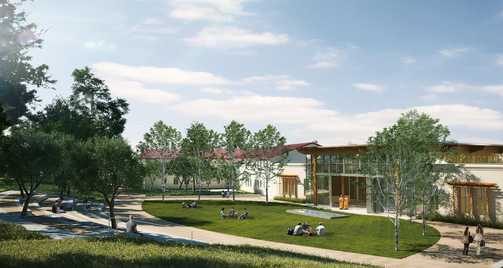 Dharma Realm Universitiy | Rendering by CISPA