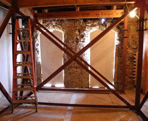 John Marsh House stabilization